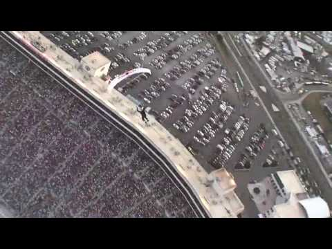 Red Bull Airforce Skydiving at the Bristol Nascar Race
