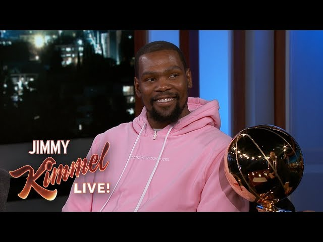1835301e420b Kevin Durant names Warriors   most valuable partier  on Jimmy Kimmel -  SFGate