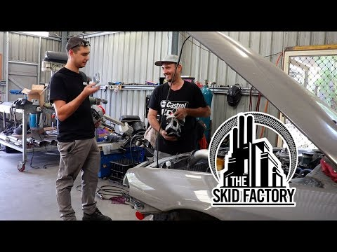 THE SKID FACTORY - Turbo LS1 R32 Skyline [EP3]