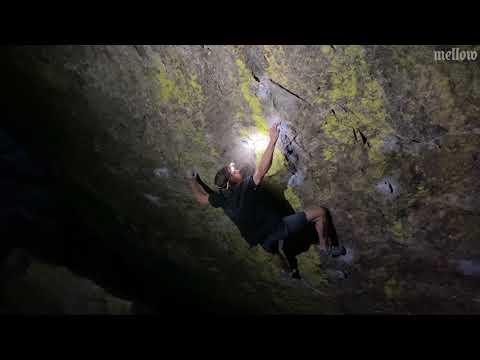 Daniel Woods climbs Blade Runner (Font 8C)