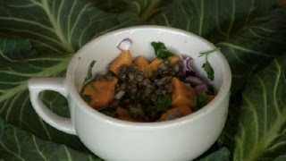 Lentil & Sweet Potato Salad : Lentil Recipes