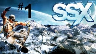 Let's Play SSX - Part 1 (PS3 HD Gameplay Walkthrough)