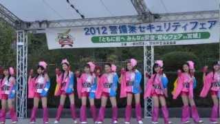 仙台ご当地アイドル・みちのく仙台ORI☆姫隊LIVE/勾当台公園(2012.11.18...