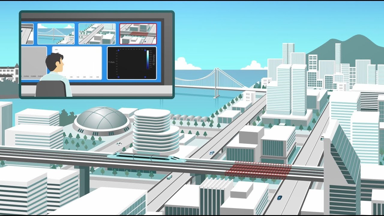 【TOSHIBA】Structural Health Monitoring - YouTube