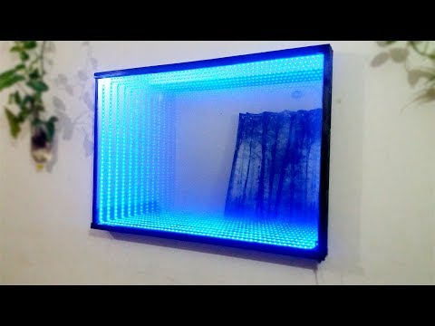 How to Make an Optical Illusion LED Infinity Mirror at Home