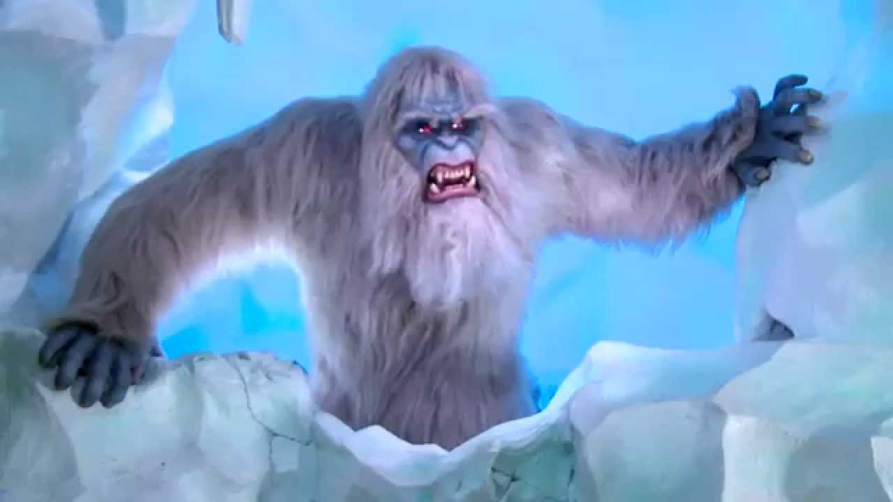 Matterhorn Bobsleds New Yeti First Look Disneyland