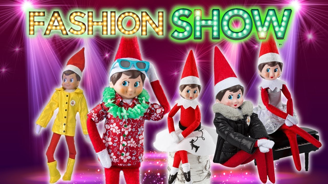 Elf On The Shelf Fashion Show 29 Costumes Outfits For Magic Elves