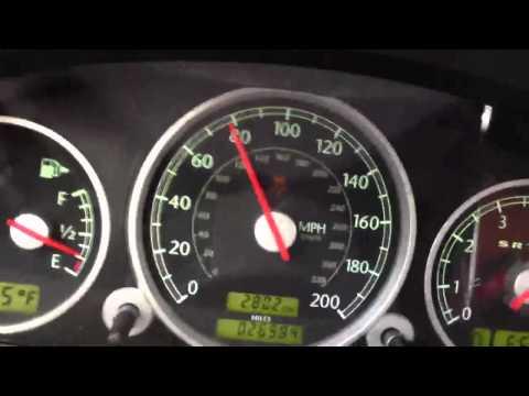 SRT6 Chrysler Crossfire 0-120