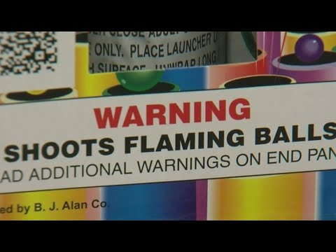 Tampa business shares fireworks safety tips for New Year's Eve celebrations