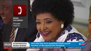 Struggle Veteran Denis Goldberg On The Death Of #WinnieMandela