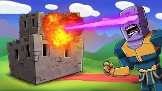 Minecraft - AVENGERS INFINITY WAR BASE CHALLENGE! (Thanos vs Base)