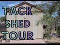 Tack Shed Tour