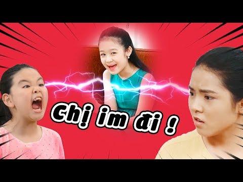 Lam Chi HẢ HÊ khi chị em Tâm Anh, Tâm Ý