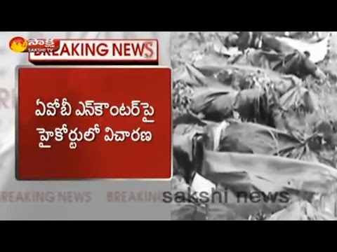 High Court Seeks Report From AP Govt On AOB Encounter - Watch Exclusive