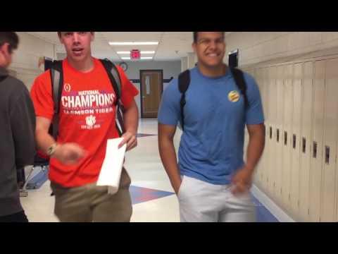 THE FLOOR IS ACTUALLY LAVA: McLean High School
