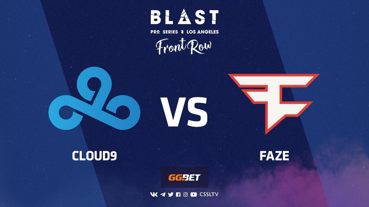 Cloud9 vs FaZe | Mirage | BLAST Pro Series Los Angeles 2019