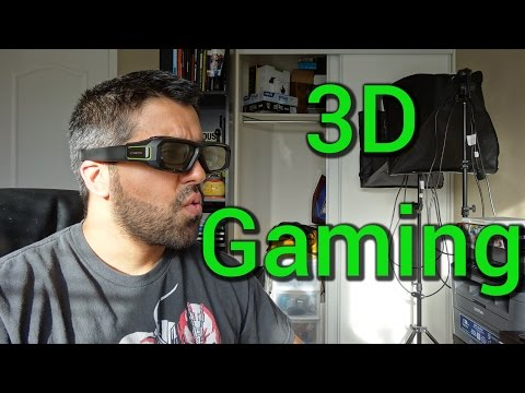 Nvidia 3D Glasses Vision v2 In-depth Review