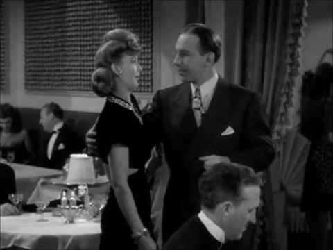 Carole Landis Dances With Lloyd Nolan (It Happened In Flatbush)