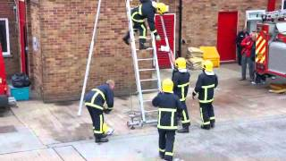 Comedy ladder drill.