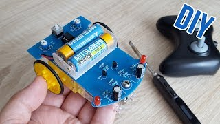 КОНКУРС | DIY Робот для начинающего радиолюбителя D2-1| School project Robot kit D2-1