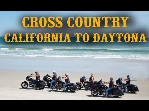 Motorcycle Trip - California to Daytona Beach Bike Week