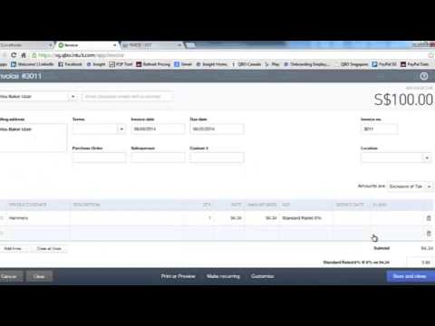 Intuit QuickBooks for Malaysia GST
