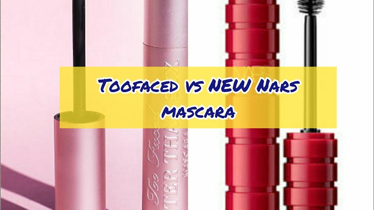4c02542b1cd Nars Climax mascara vs Too Faced better than sex mascara 💗| alazaes ...