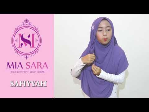 Tutorial Cara Pakai Tudung Mia Sara Safiyyah Instant Shawl