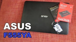 Asus F555YA + SSD + 8GB de RAM, portátil muy barato