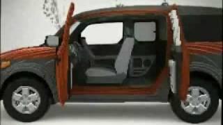Honda Element Хонда Элемент Реклама