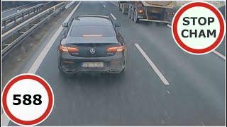 Stop Cham #588 - Niebezpieczne i chamskie sytuacje na drogach