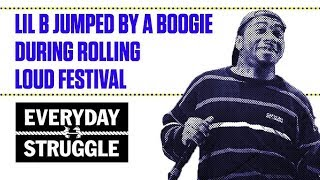 Lil B Jumped By A Boogie During Rolling Loud Festival | Everyday Struggle thumbnail