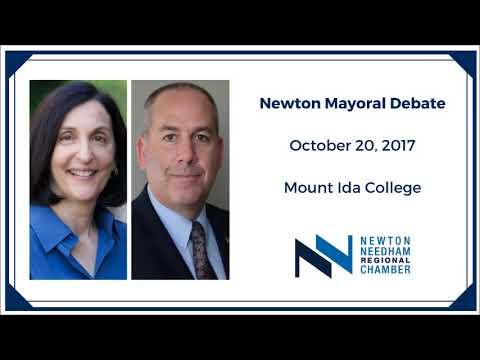 Newton Mayoral Candidates Debate 10.20.2017