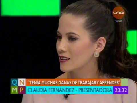 Claudia Fernandez hace una pausa en la television para dedicarse a su hija