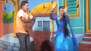 Andhra Style Stage Sexy Dance