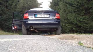 audi a4 b5 1 8t exhaust sound