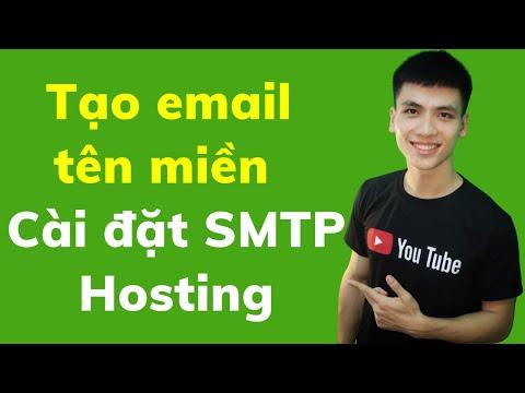 Hướng Dẫn Cài Đặt Gửi Mail SMTP ở A2 hosting| Tạo Thông Báo Khi Có Đơn Hàng