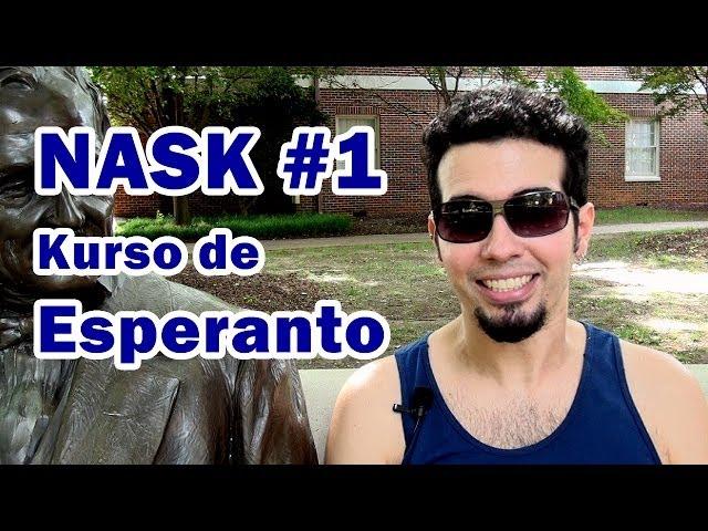 NASK - Nordamerika Somera Kursaro de Esperanto (1-a parto)