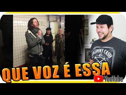 HOZIER CANTA NO METRO DE NOVA YORK New York - Marcio Guerra