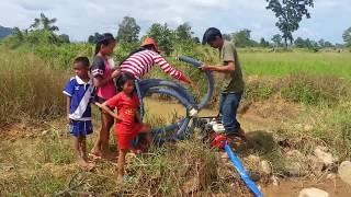 Amazing Fishing at Pailin Province - Cambodia Traditional Fishing - Khmer  Net Fishing (Part 099)