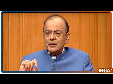 Arun Jaitley in Aap Ki Adalat: Talks with Pak only after their decisive action against terrorism