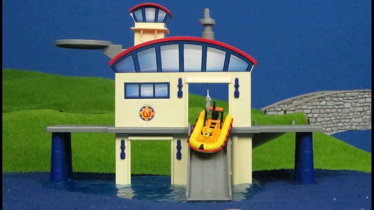 Feuerwehrmann Sam Unboxing: Ocean Rescue Center