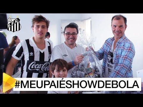 Conheça o vencedor da promoção #MEUPAIÉSHOWDEBOLA