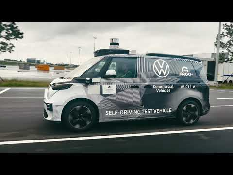 Introducing the ID. BUZZ Autonomous Driving Test Vehicle