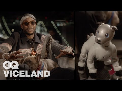 2 Chainz Plays with a $3K Robot Dog | Most Expensivest | GQ & VICELAND