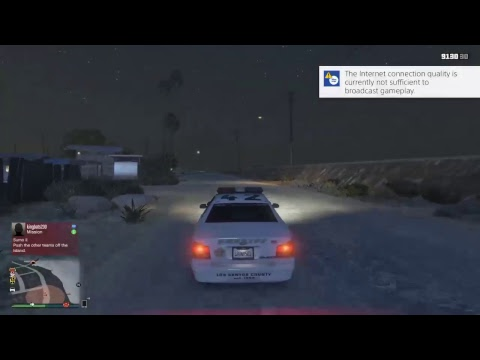 Cops and Civilians GTA 5 roleplay (PS4)