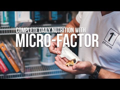 Convenient Complete Daily Nutrition with Micro Factor