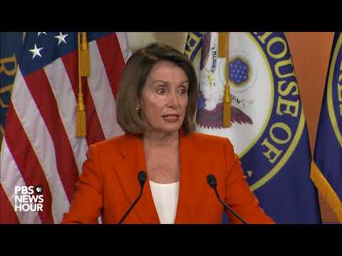 WATCH: Rep. Pelosi holds weekly news briefing
