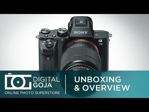 sony-alpha-a7ii-mirrorless-digital-camera-with-28-70mm-lens-kit-|-unboxing-&-overview