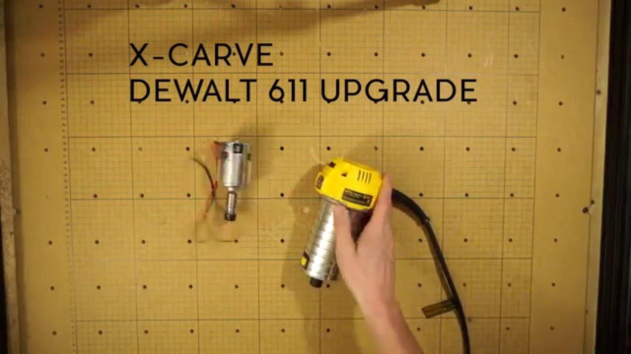 X carve dewalt 611 spindle upgrade youtube x carve dewalt 611 spindle upgrade keyboard keysfo Choice Image